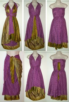 1000 Images About Silk Wrap Multiwear Skirt On Pinterest