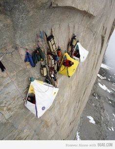 Extreme Camping!
