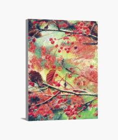 Lienzo Floral Lienzo en bastidor, vertical 3:4  39,95 € - ¡Envío gratis a partir de 3 artículos!