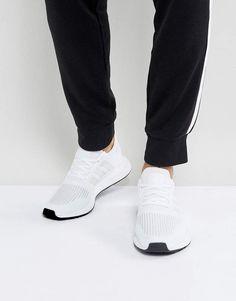 4410e8c53 adidas Originals Swift Run Sneakers In White CG4112 Sneakers Fashion