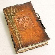 Nature Heart Leather Journal.