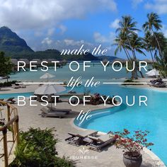 Make the rest of your life the best of your life. Las Vegas, Sicily Italy, Luck Of The Irish, Friday Feeling, Back On Track, You Lied, Victorias Secret Models, Daily Affirmations, Optimism