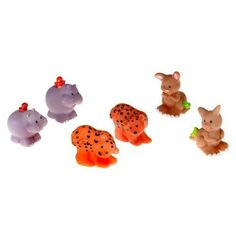 Christmas 2015~ Fisher Price Little People Noah's Animals Kangaroos, Hippos, and Leopards- Assortment