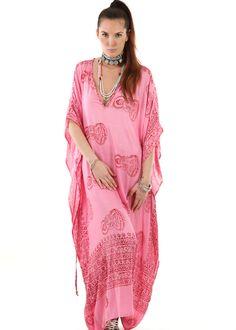 Gypset Maxi Kaftan Lungi pink: INDIAN SUMMER, Germany