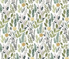 Spring Leaves custom wallpaper by bluebirdcoop for sale on Spoonflower Laundry Room Wallpaper, Rainbow House, Nordic Kitchen, China Art, Perfect Wallpaper, Design 24, Custom Wallpaper, Textured Walls, Home Renovation
