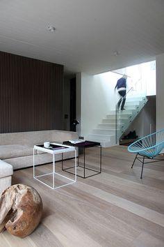 Woonkamer inrichten met trap | Interieur inrichting