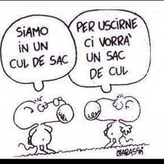 A volte la fortuna non basta...ci vuole di più!!! #culdesac #fortuna #chance #vicolocieco