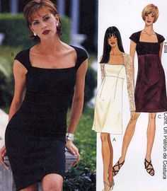 Bridesmaid or cocktail dress sewing pattern McCalls 9396 evening wear or Bridal Party UNCUT  Sz 10 to 14 Uncut