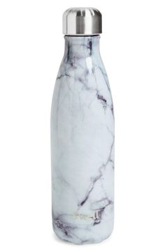 Main Image - S'well 'White Marble' Insulated Stainless Steel Water Bottle