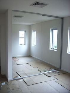 Exceptional Frameless Mirrors Create A Very Contemporary/modern And Sleek