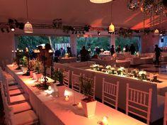 Casamiento Maca y Diego - Carpa en Golf Club Argentino by Mercedes Courreges Ambientaciones