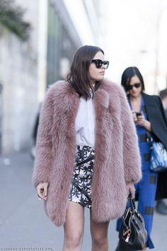 Atlanta de Cadenet Taylor - Paris Fashion Week Fall 2014 Street Style | ATHENS STREETSTYLE