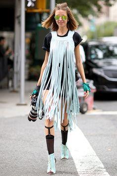 La rue s'est exprimée! Voici en rafale cinq tendances qui font fureur auprès des filles les plus fashion au monde!