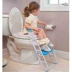 Soft Potty Seat With Step Stool - Contoured Cushie Step Up