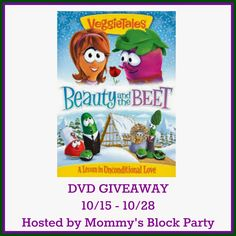 Mommy's Block Party: VeggieTales: Beauty and the Beet New to DVD #Review + #Giveaway
