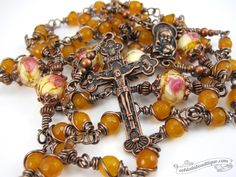 Unbreakable Yellow Jade Rosary confirmation gift yellow rosary catholic gift keepsake rosary catholic rosaries unbreakable rosary copper by OohlalaBeadtique on Etsy https://www.etsy.com/ca/listing/493863598/unbreakable-yellow-jade-rosary #rosary #rosaries #unbreakablerosary #yellowrosary #catholicrosary #keepsakerosary #catholicgift #confirmationgift #confirmation #communiongift #communion#copperrosary #yellowrosary