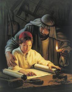 Joseph and Jesus.