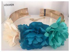 Dale un toque diferente y de lo más primaveral a tus looks!! Posibilidad en otros colores.  Disponible en nuestro showroom!! #louvermarbella#cinturon#flores#complementos#marbella#malaga#showroom#fshion#verdeagua#chiara#flowers#nice#cool#cute#