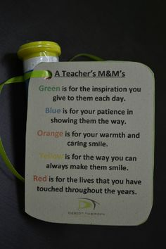 M Goodies for Teachers!