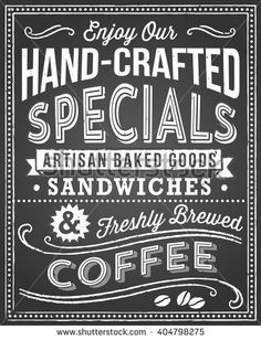 Chalkboard Menu Background - Retro and hand-drawn vintage chalkboard background. File is layered, and each object is grouped separately for easy editing. Texture can be removed.