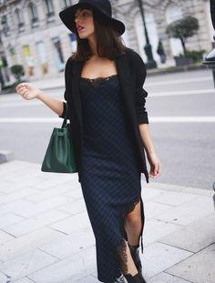 #tartan #dress #fashion #outfit #blogger