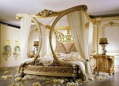 My dream bedroom OOoo LALA. Sweet Romantic Bedroom Colors - Marie Antoinette - Click Pic for 42 Romantic Master Bedroom Decor Ideas Romantic Bedroom Colors, Romantic Master Bedroom, Beautiful Bedrooms, Romantic Bedrooms, Master Suite, Master Bedrooms, Whimsical Bedroom, Messy Bedroom, Amazing Bedrooms