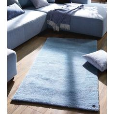 Theko 707 Powder Uni Light Blue Rug by Tom Tailor Relaxing Colors, Rug Making, Uni, Comforters, Color Schemes, Living Spaces, Light Blue, Powder, Indoor