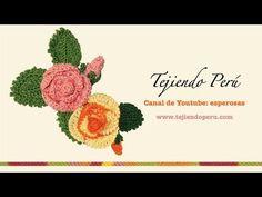 Rosas y botones - Tejiendo Perú