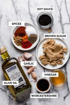 all-purpose grill marinade for chicken, pork, & more!-plays well with butter Pork Chop Recipes, Grilling Recipes, Perfect Grilled Chicken, Pork Marinade, Kebabs On The Grill, Chicken Marinades, Chicken Steak, Chicken Teriyaki Sauce, Grilled Pork Chops