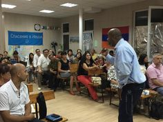 Teaching in a Messianic Congregation in the city of Rostov on Don, Russia - 9.6.15