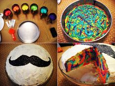 Tie Dye Cake#Repin By:Pinterest++ for iPad#