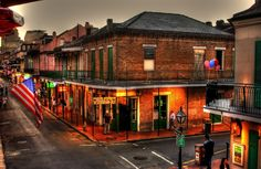 Bourbon Street Awesome View