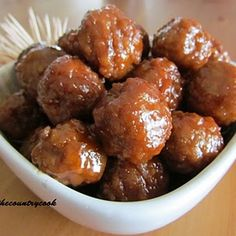 Crock Pot Meatballs  My kids LOVE these. Frozen meatballs, 2 jars chilli sauce, 1 jar grape jelly. I serve it with rice or some times we make meatball sanwiches. Super easy and they all love it.