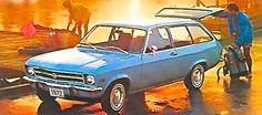 1972 Opel 1900 Station Wagon.