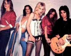 the runaways - first american all-girl rock band
