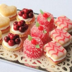 Cakes Sweets Miniature