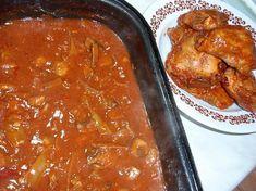 Kuře (králík) v pikantní omáčce Curry, Ethnic Recipes, Cooking, Curries