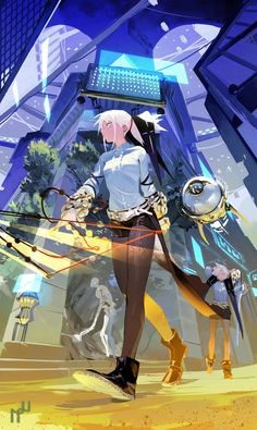 ArtStation - Wizards, NAJI Yanagida