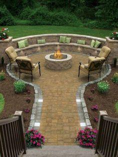 17 Awesome Backyard Patio Design Ideas