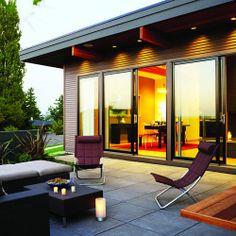 Beautiful patio door