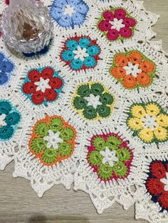 African flowers crochet @buse_9495