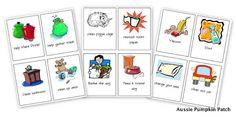 Aussie Pumpkin Patch: Chore Cards