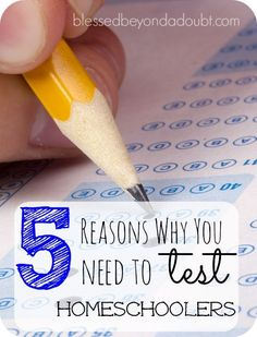 Do you believe we should test homeschoolers? Yay or Nay?  #SpectrumTestPrep #ad