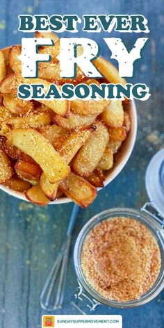 Garlic Parmesan French Fry Seasoning is so good, you will want to use it on EVERYTHING! This is the best fry seasoning recipe ever, not just for fries, but for burgers and even grilled cheese! Hamburger Seasoning Recipe, Seasoning Mixes, Best Burger Seasoning, Homemade Spices, Homemade Seasonings, French Frie Seasoning, Seasoned Fries, Seasoned French Fries Recipe, Sauces