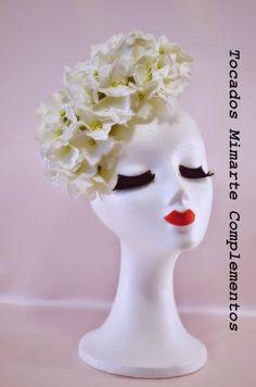 Todos nuestros tocados están personalizados ¡¡y desde 40€!! http://artesanio.com/tocados-mimarte-complementos