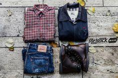 Retrock - Retrock - cutting edge fashion from Budapest based vintage & designer shop Look Man, Vintage Designs, Biker, Vintage Outfits, Boots, Unique, How To Wear, Men, Clothes