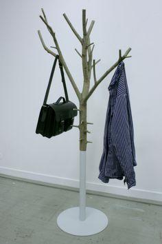 Tree as hallstand by Majoren Erik Bjork