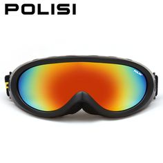 High Quality POLISI Ski Skate Snowboard Outdoor Sports Goggles Motorcycle Sunglasses Off-Road Cycling Glasses Oculos #P-313-BA #Affiliate