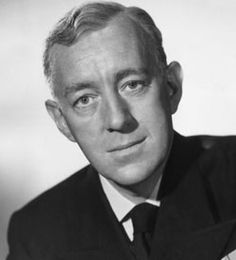 Alec Guinness - Served in the RNVR, serving first as a seaman in 1941 and being commissioned the following year. He commanded a landing craft taking part in the invasion of Sicily and Elba and later ferried supplies to Yugoslav partisans.