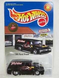 Hot Wheels Jiffy Lube '56 Ford Truck Black Buy It Now